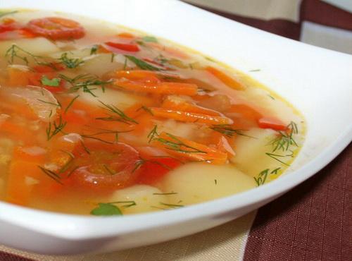 Как сварить овощной бульон и супы