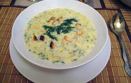 сырный суп с курицей и грибами рецепт с плавленным сыром пошаговый