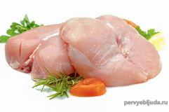 филе куриное для грибного супа