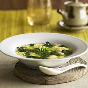 Суп с шпинатом
