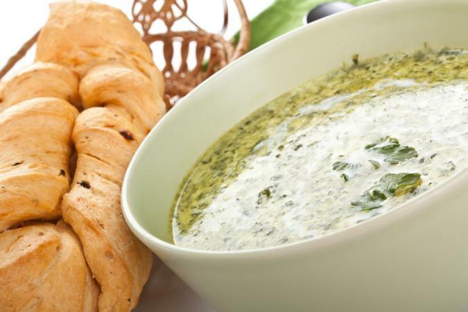 Рецепт супа с пшеном и сыром