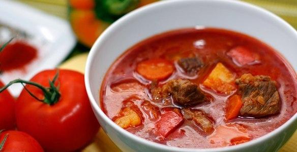 Как приготовить суп гуляш