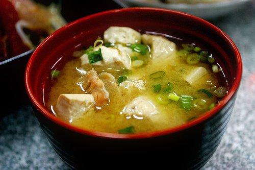 Суп мисо— японское первое блюдо