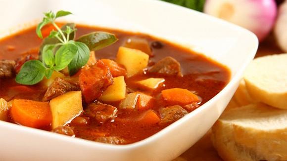 Суп гуляш Венгерский, густой, ароматный и вкусный суп пастухов!