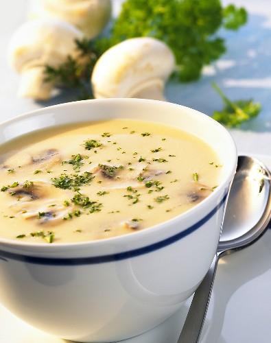 Суп крем сливочный