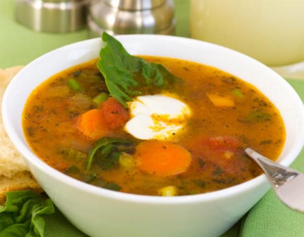 Приготовить овощной суп