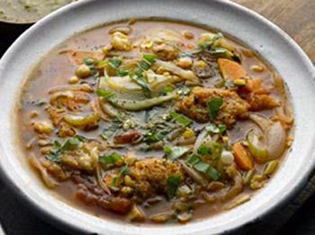 Хлебный суп: быстро, легко и вкусно