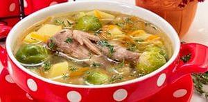 Рецепт супа с перепелами