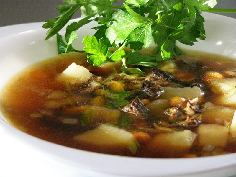 Рецепт вкусного грибного супа