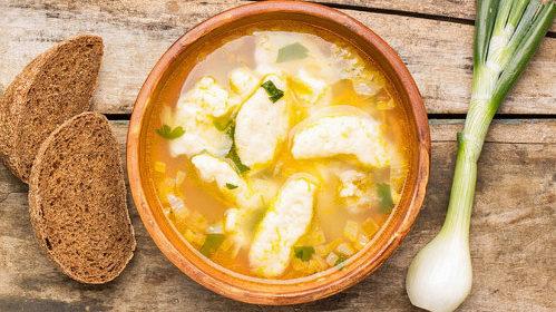 суп и клецки