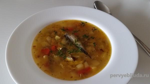 Суп со шпротами— экономно и вкусно