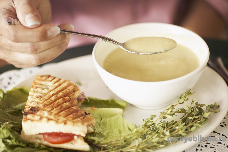 Простой суп из овощей