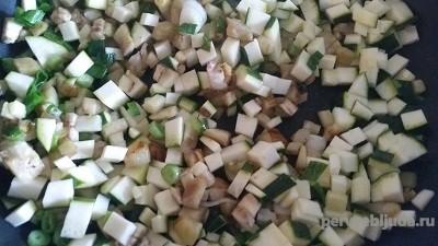 кабачки на сковородке для рагу