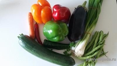 овощи для рагу