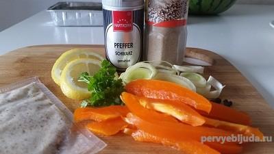продукты для запеченной радужной форели