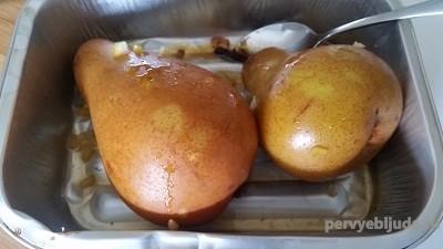 груши в духовке