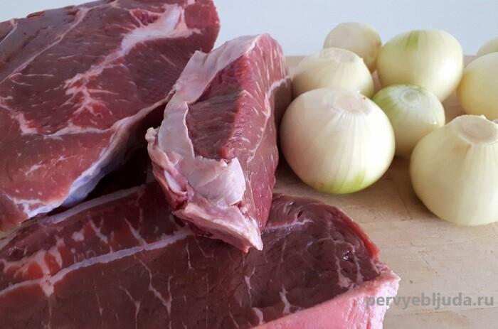 мясо на бульон