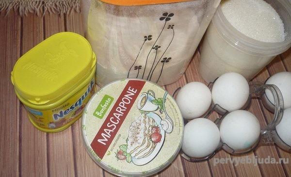 ингредиенты для домашнего торта