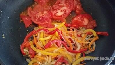 помидоры с овощами