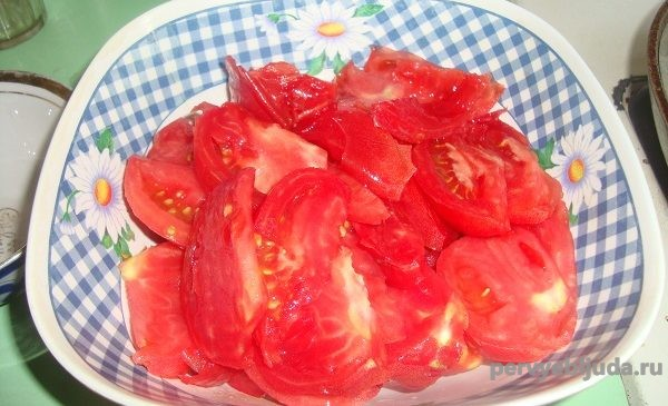 помидоры для салата