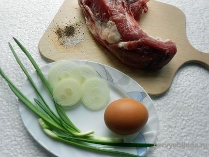 продукты для приготовления завтрака