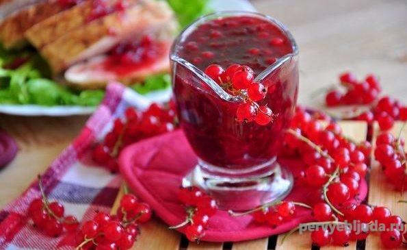 ягодный соус