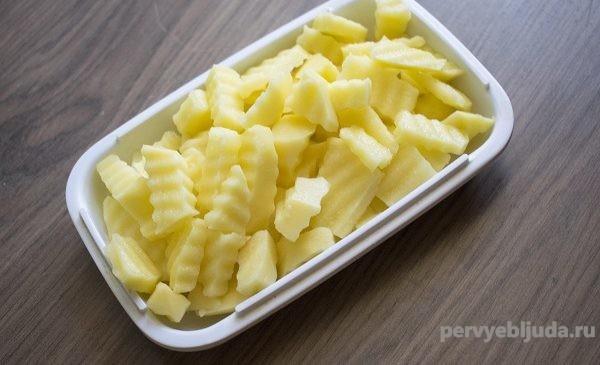 картофель фигурный