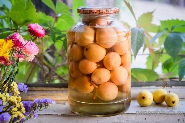 Вкусный компот из целых груш на зиму