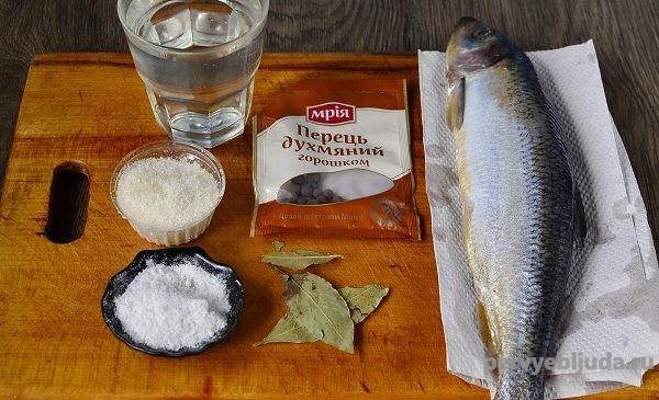 продукты для засолки сельди
