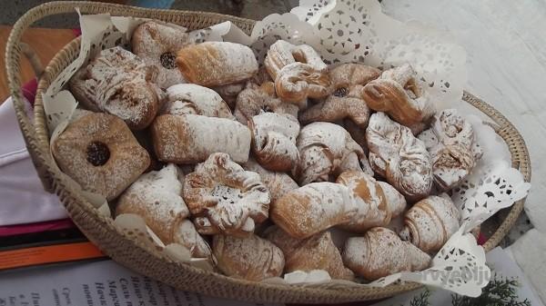 сервировка печенья