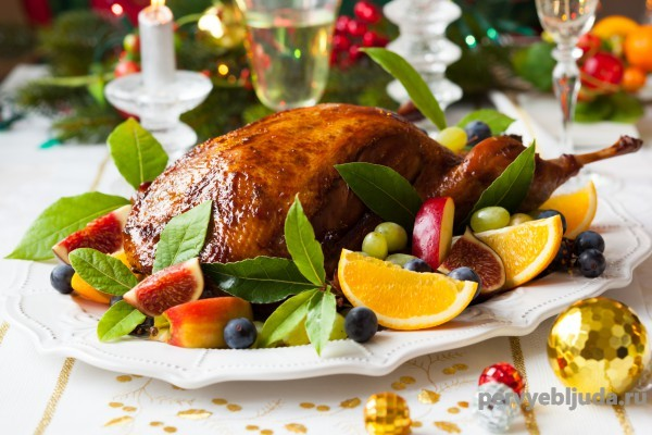 Сервировка блюд на праздничный стол