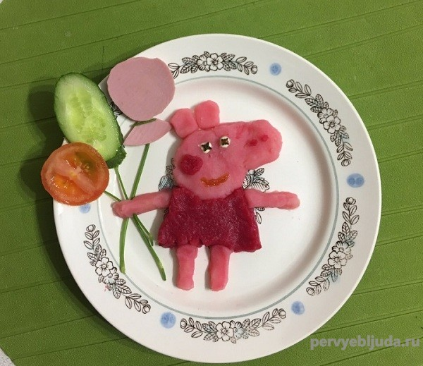 рецепт свинка пеппа
