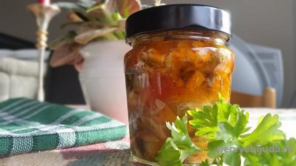 Рецепт скумбрии на зиму с овощами, самый вкусный рецепт!