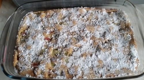 пирог из ревеня
