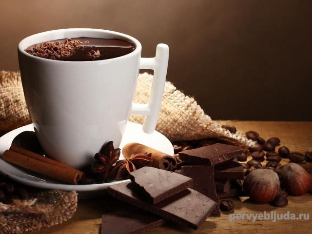 Волшебный напиток Горячий шоколад