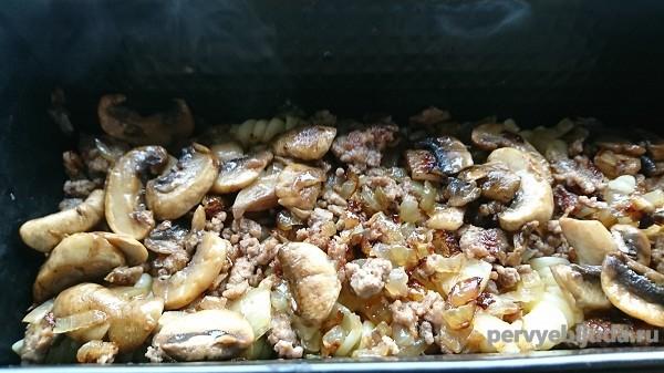 слой грибы