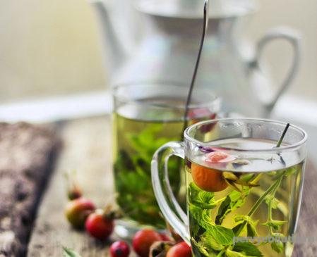 чай из трав летний