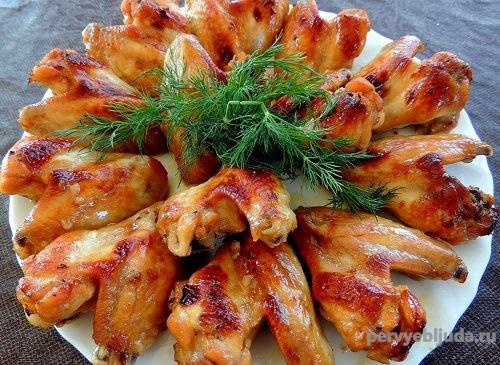 классический маринад для куриных крыльев