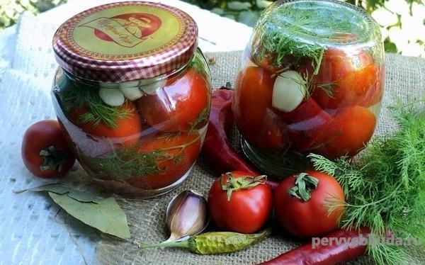 острые помидоры на зиму