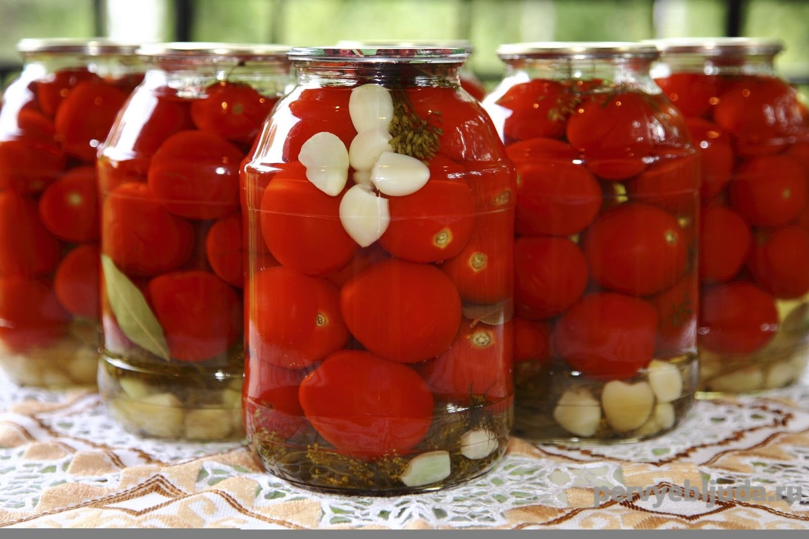 маринуем помидоры без стерилизации