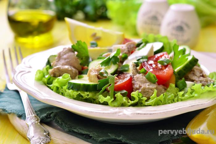 Салаты из печени трески— 3 вкусных рецепта!