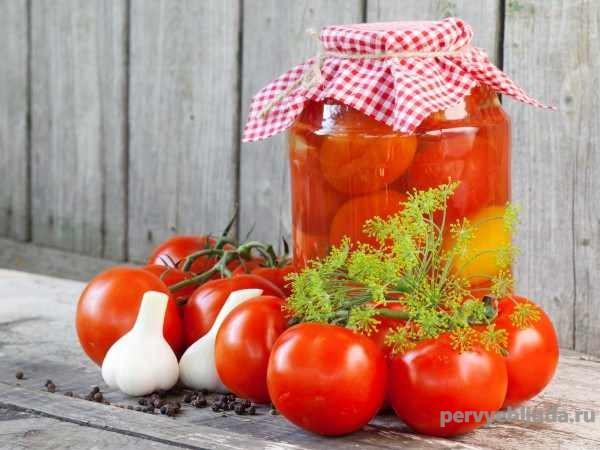 сладко-острые помидоры на зиму