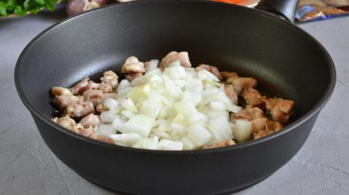 готовим плов из куриных голеней