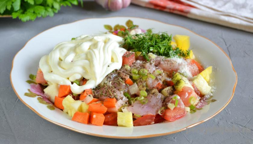 готовим овощное рагу