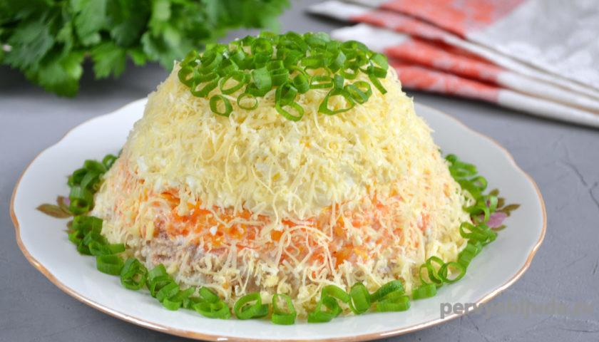 готовый салат слоеный