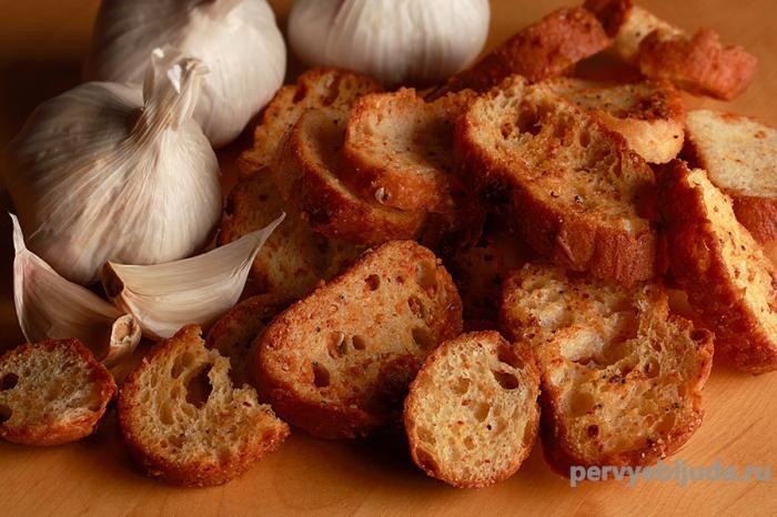 сухари приготовленные в духовке