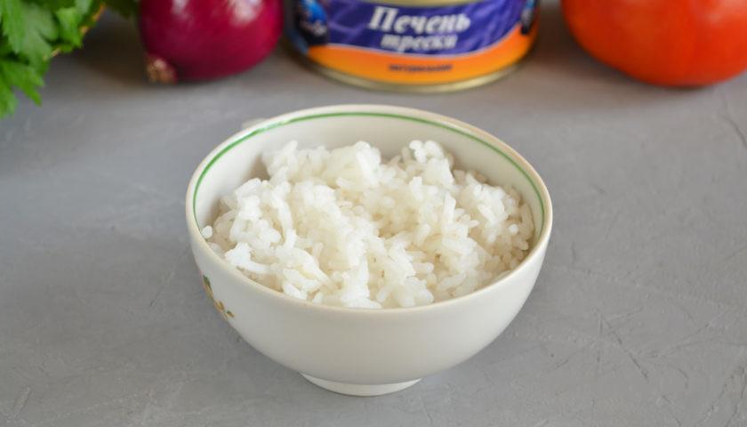 ингредиенты для салата из трески