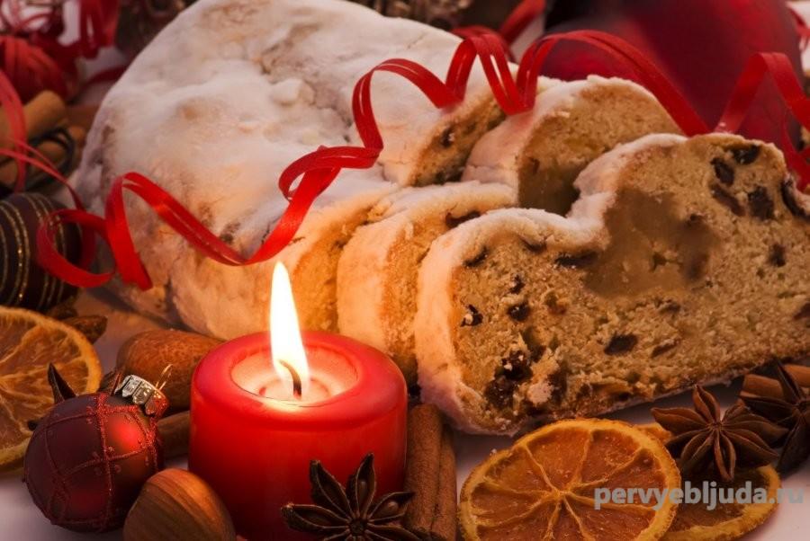 рождественский штолен рецепт