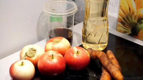 ингредиенты для печеных яблок