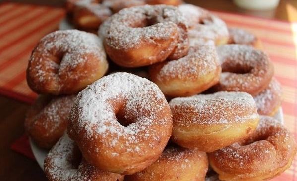 пончики домашние творожные